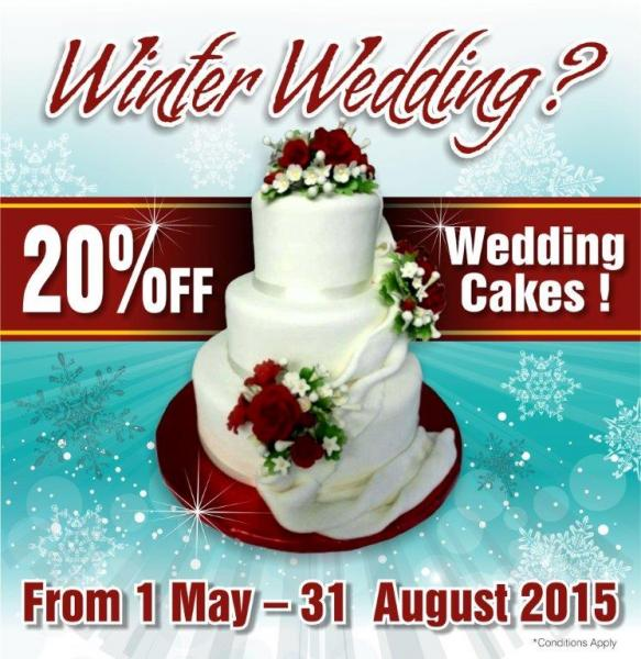 Wedding Cake Promotion